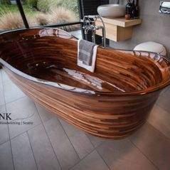 Lavabo en bois